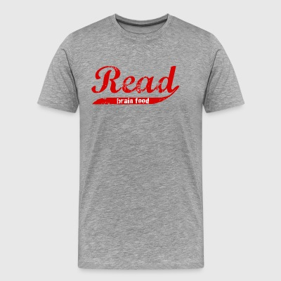 Read: Brain food - Men's Premium T-Shirt