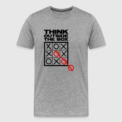 think outside the box hood - Men's Premium T-Shirt