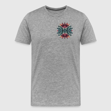 HEWGE Zella's Sun And Ocean Ring With Pointy Edges - Men's Premium T-Shirt