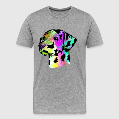 Colorful Dalmatian - Men's Premium T-Shirt