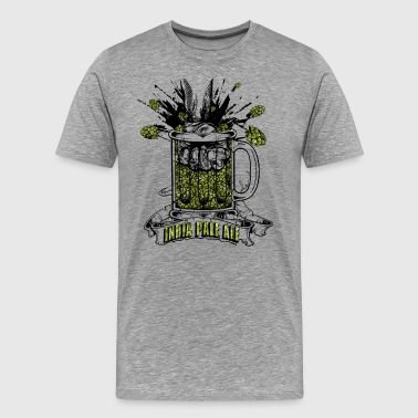 India Pale Ale - extreme dry hopped - Men's Premium T-Shirt