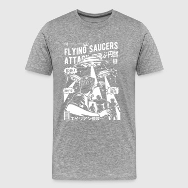 Flying Saucer Attack - Men's Premium T-Shirt