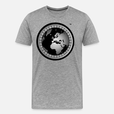 Abroad Official Wheel & Globe Hoodie - Men's Premium T-Shirt