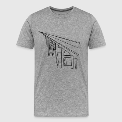 Bridge Vector - Men's Premium T-Shirt