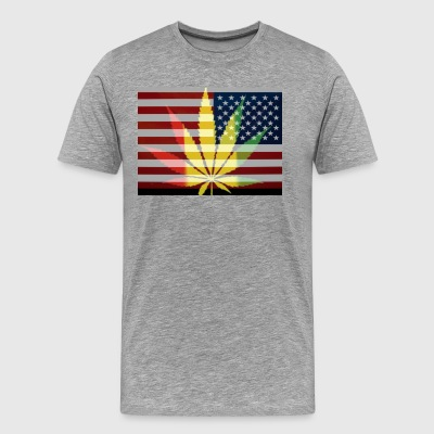 Weed of United States - Men's Premium T-Shirt
