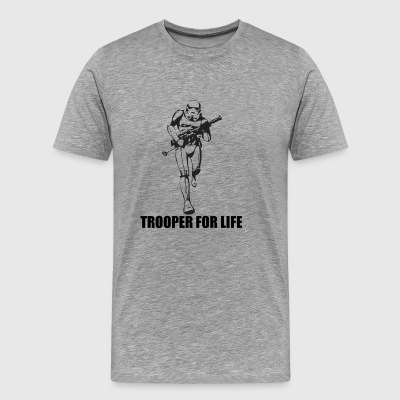 trooper for life star wars - Men's Premium T-Shirt