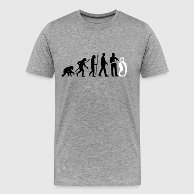 evolution_of_man_sculptor_112014_a_2c - Men's Premium T-Shirt
