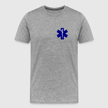 Emergency Paramedic emt_blue - Men's Premium T-Shirt