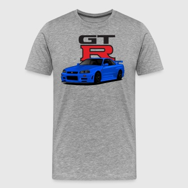 Skyline R34 - Men's Premium T-Shirt