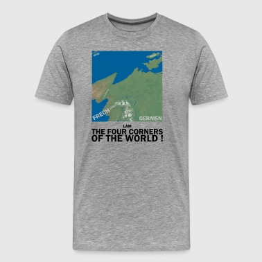 I,AM THE FOUR CORNERS OF THE WORLD ! - Men's Premium T-Shirt