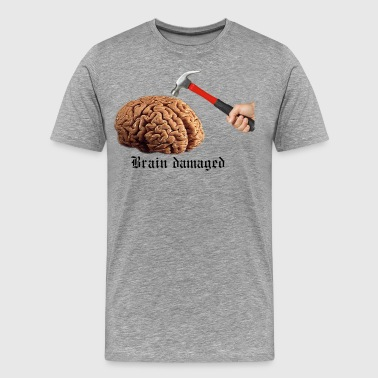 Brain Damaged - Men's Premium T-Shirt