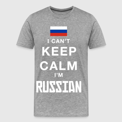 Keep calm I´m Russian - Men's Premium T-Shirt