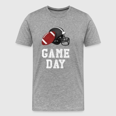Game Day Football T-Shirt for Football Fans - Men's Premium T-Shirt