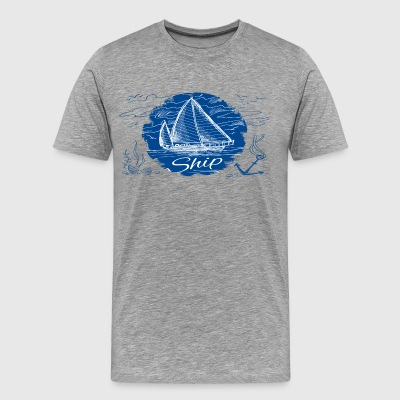 ship shirt - Men's Premium T-Shirt