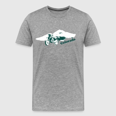 Colorado Dirt Bike - Men's Premium T-Shirt