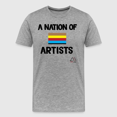 A nation of artists - Men's Premium T-Shirt