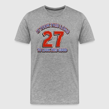 27th birthday designs - Men's Premium T-Shirt
