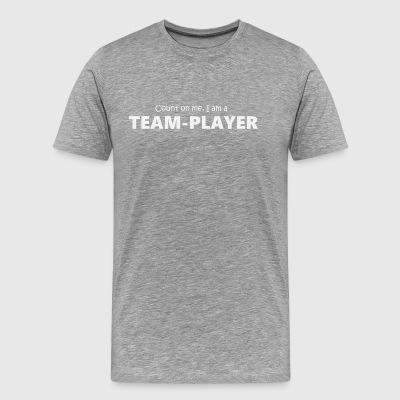 Teamplayer 5 (2174) - Men's Premium T-Shirt