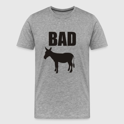 Bad Donkey Funny T shirt - Men's Premium T-Shirt