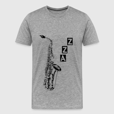 Instrument Sax - Men's Premium T-Shirt