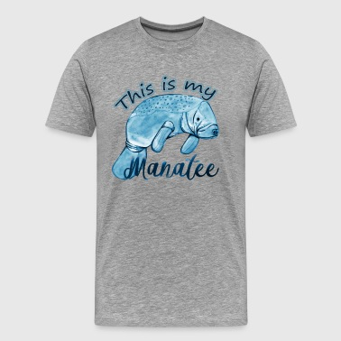 This Is My Manatee T Shirt - Men's Premium T-Shirt