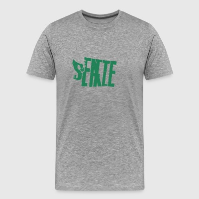 things to do in seattle - Men's Premium T-Shirt