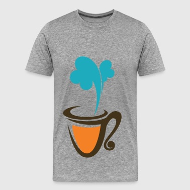 Abstract food logos creative design - Men's Premium T-Shirt