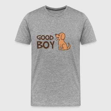 Good boy - Dog lovers - Men's Premium T-Shirt