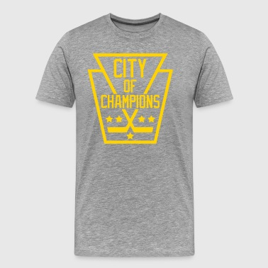 Pittsburgh City of Champions - Men's Premium T-Shirt