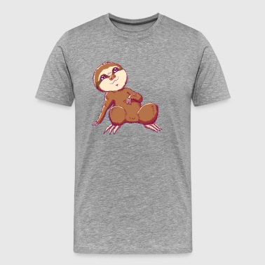 Baby Sloth - Lio - Men's Premium T-Shirt