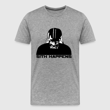 Darth Vader Sith Happens - Men's Premium T-Shirt
