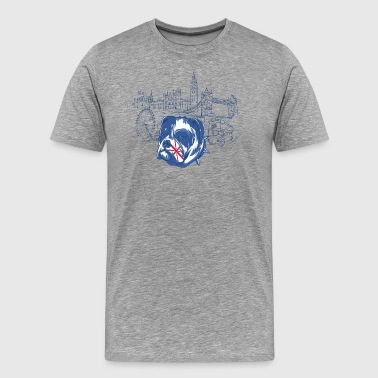 London dog T Shirt - Men's Premium T-Shirt