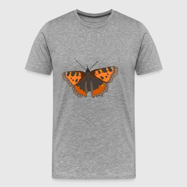 Kleiner Fuchs Schmetterling Butterfly Animals Tier - Men's Premium T-Shirt