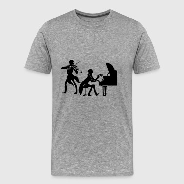 classical musician - Men's Premium T-Shirt
