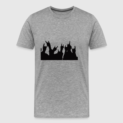 Rock hands - Men's Premium T-Shirt