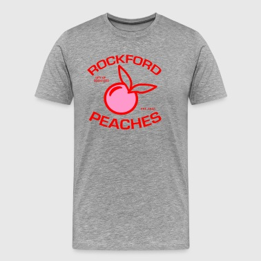 ROCKFORD BASEBALL: THIS IS A WOMANS GAME - Men's Premium T-Shirt
