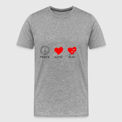 peace love20 - Men's Premium T-Shirt