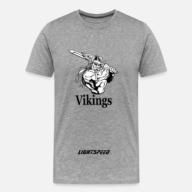 Viking Strong Vikings - Men's Premium T-Shirt