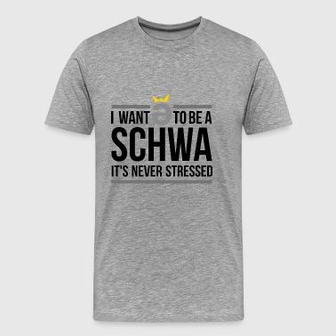 schwa - Men's Premium T-Shirt