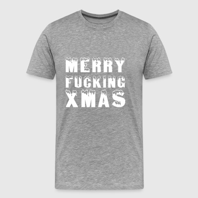 Merry Fucking XMAS! Christmas - Men's Premium T-Shirt
