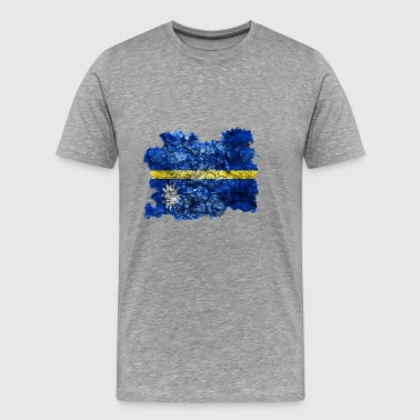 Nauru Vintage Flag - Men's Premium T-Shirt