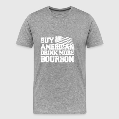 buy american bourbon - Men's Premium T-Shirt