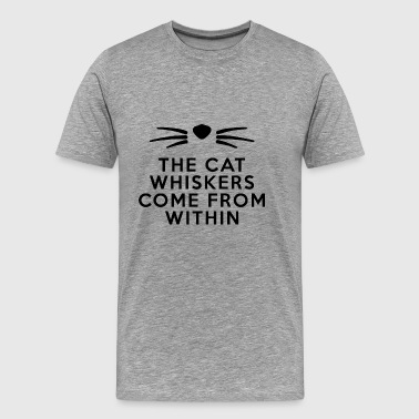 cat kitty - Men's Premium T-Shirt