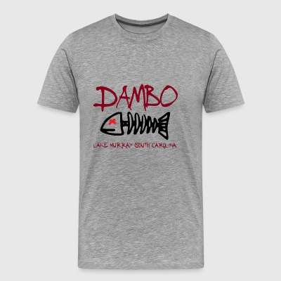 DAMBO 1 USC Carolina Gamecocks Colors - Men's Premium T-Shirt
