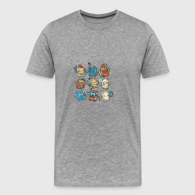 School Friends - Men's Premium T-Shirt