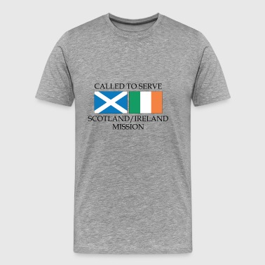 Scotland Ireland LDS Mission Called to Serve - Men's Premium T-Shirt