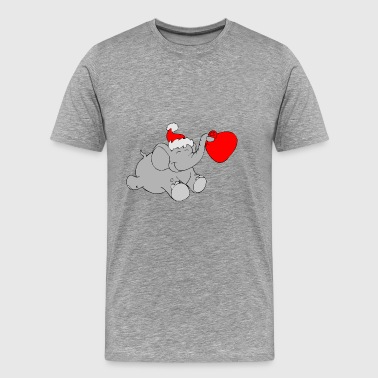 ELEPHANT XMAS - Men's Premium T-Shirt