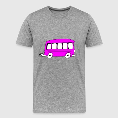 bus - Men's Premium T-Shirt