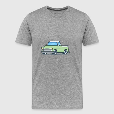 Green Pickup - Men's Premium T-Shirt