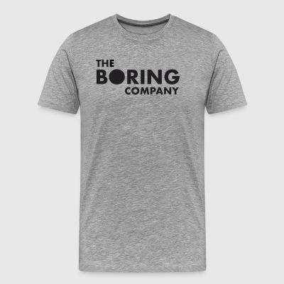 the boring company - Men's Premium T-Shirt